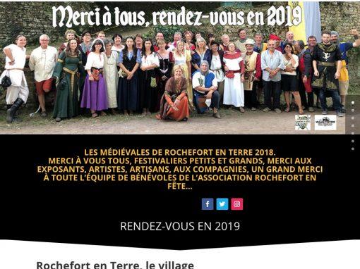 Pack communication Médiévales de Rochefort-en-Terre 2018